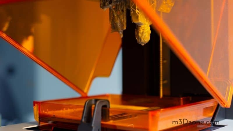 3D printer for SLA (stereolithography)
