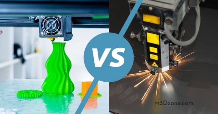 3D Printer vs. Laser Cutter