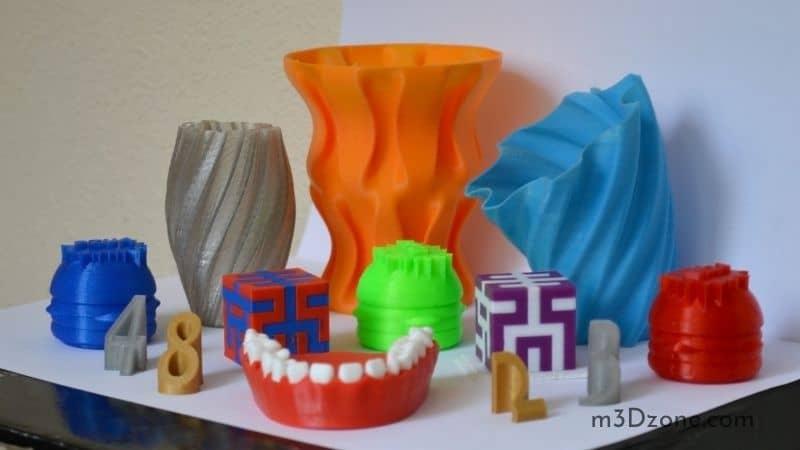Colorful 3D Printed Art