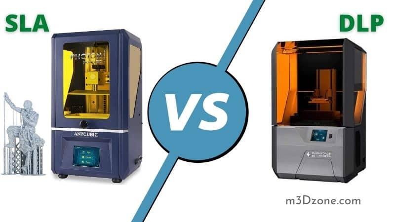SLA vs DLP 3D Printing