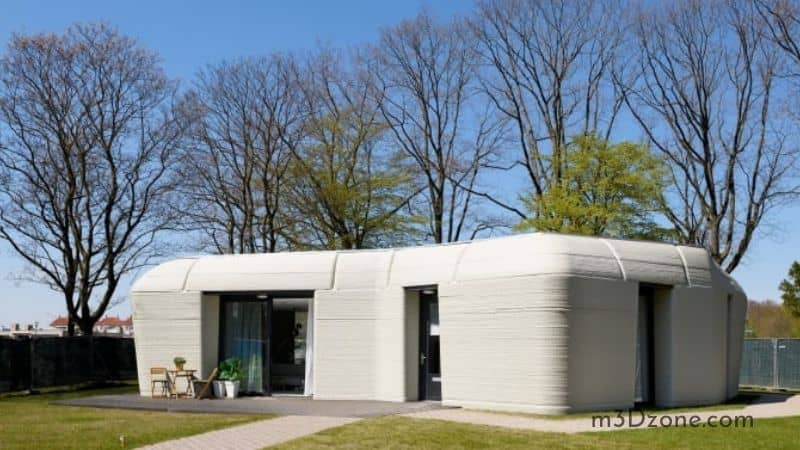Real 3D Printed Home