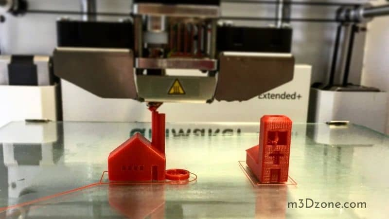 3D Red House 3D printed